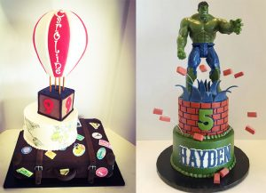 Our Custom Birthday Cakes Can Be Prepared To Your Specifications And Themed Fit Any Age Party