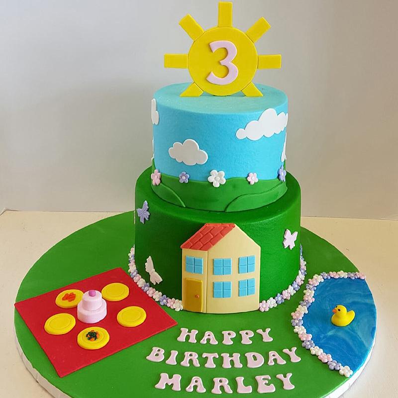 Custom Birthday Cakes Tulsa