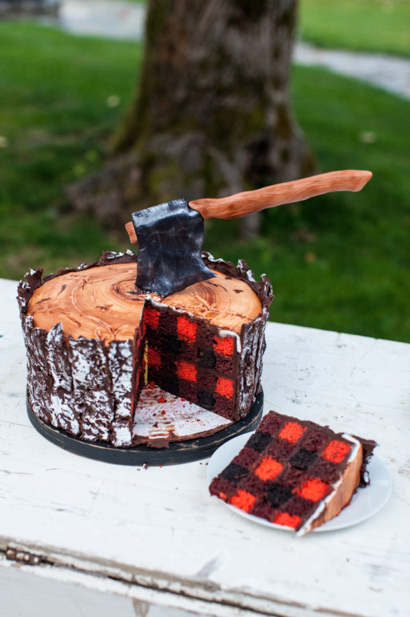 Lumberjack Cake Class Inside And Out FEBRUARY