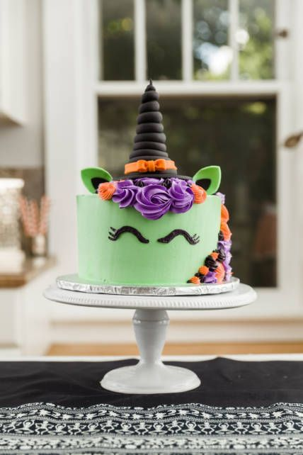 halloween unicorn cake october 30