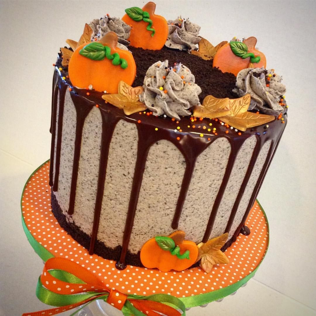 Wedding Cake Class: Fall Themed Drip Cake Class