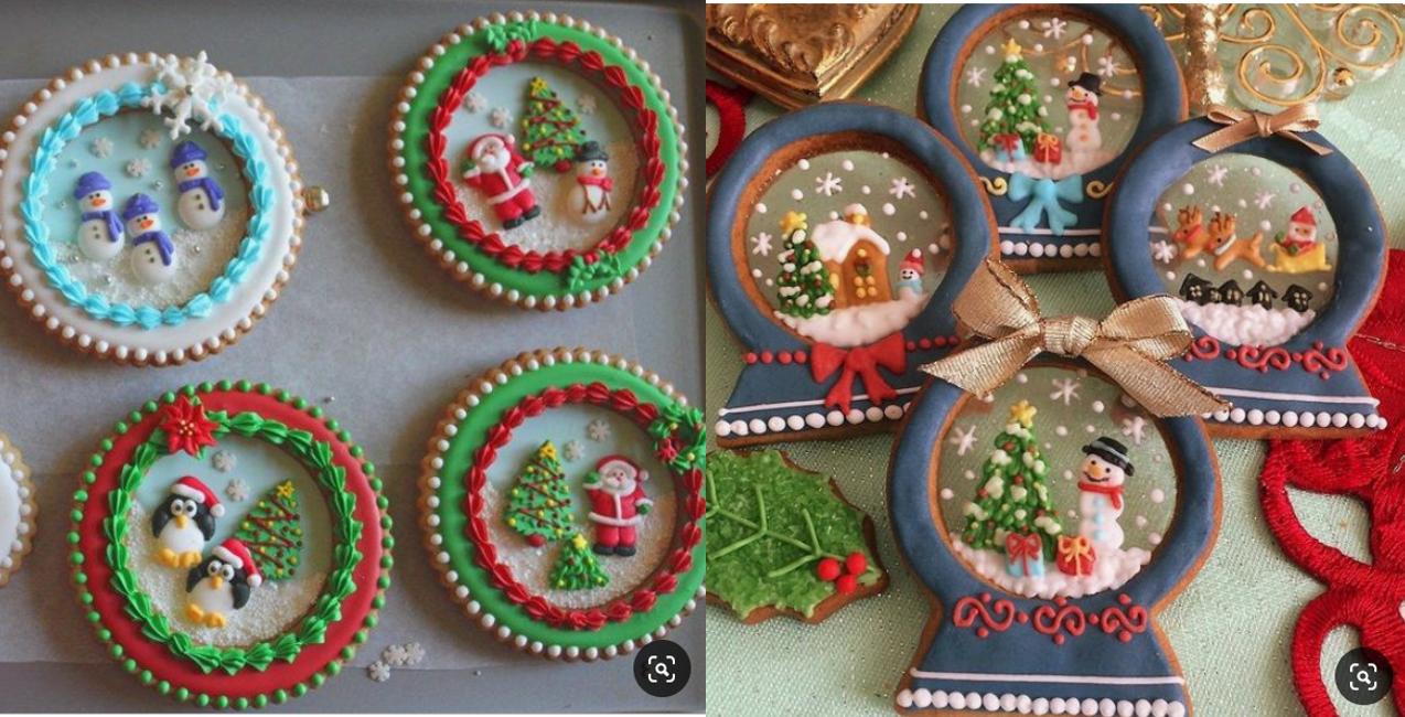 Snow Globe Cookies 12 15 1pm